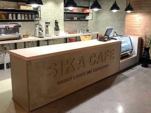 کانتر بتنی سیکا کافه