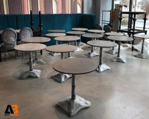 میز بتنی دایره